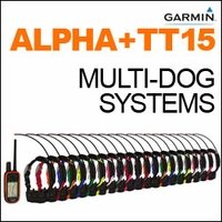shop Garmin Alpha + TT15 Multi-Dog Systems