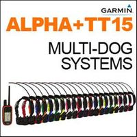 shop Garmin Alpha 100 + TT15 Multi-Dog Systems