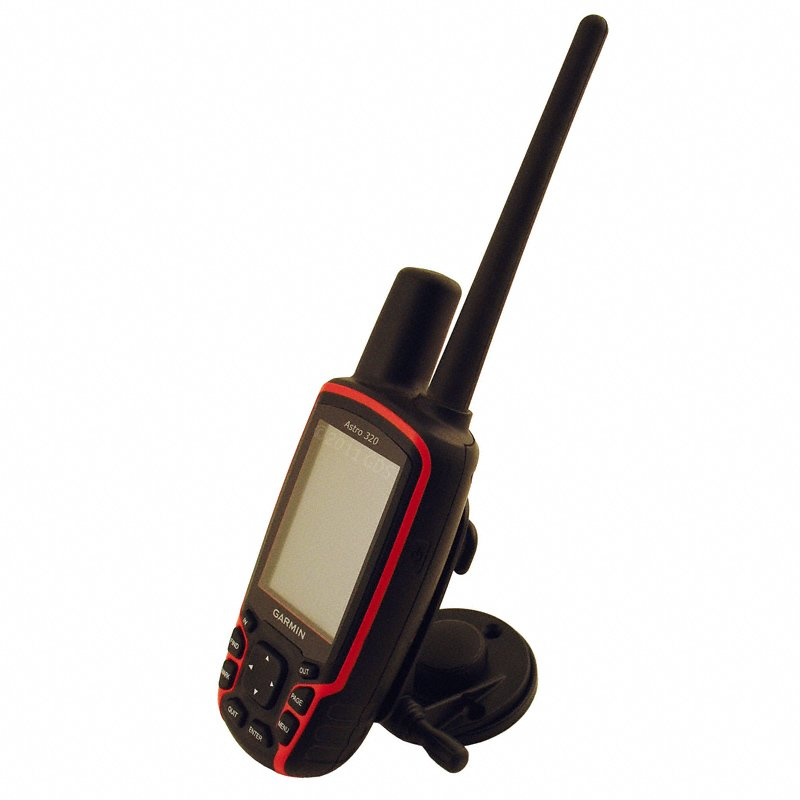 Garmin Astro 320 Handheld (not included) on Mounting Bracket