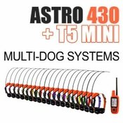 shop Garmin Astro 430 + T5 MINI Multi-Dog Systems