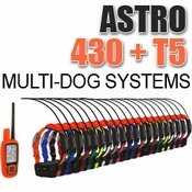 shop Garmin Astro 430 + T5 Multi-Dog Systems