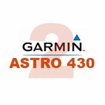 shop Garmin Astro 430 with T5 COMBO (2-dog GPS System)