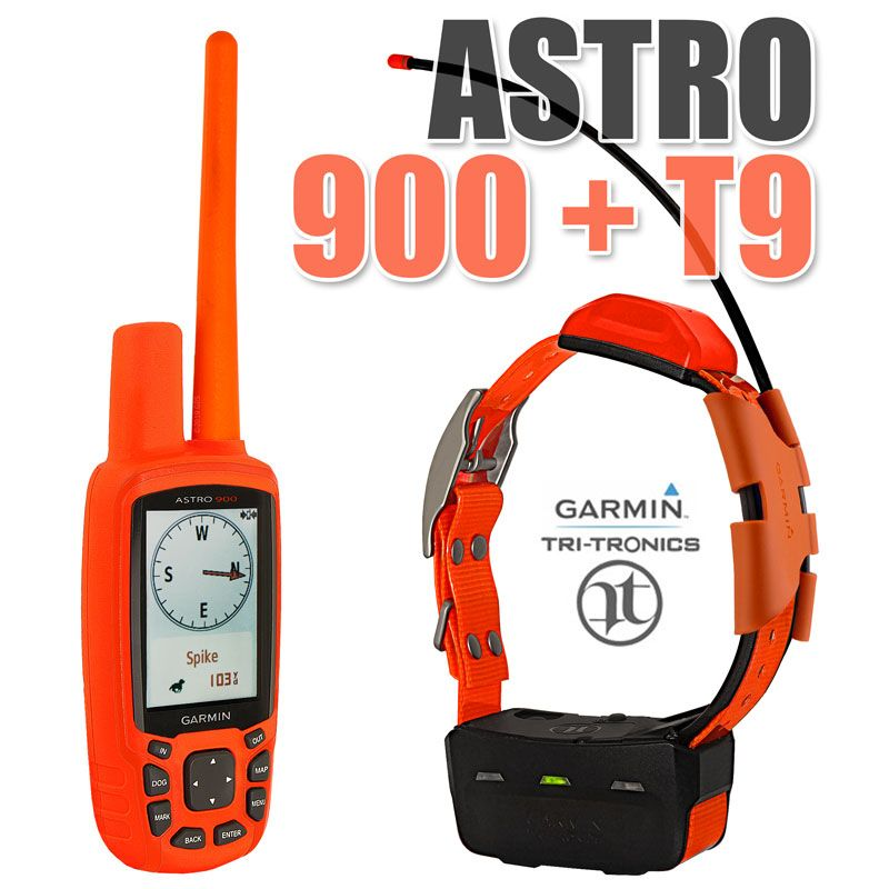 Garmin Astro 900 With T9 Collar Combo 1 Dog Gps System