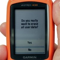 shop Garmin Astro and Alpha Master Reset Instructions