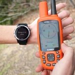 shop Garmin Fenix 5S Sapphire Orange on Point