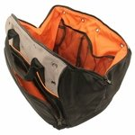 shop Garmin Field Bag Orange Interior Detail