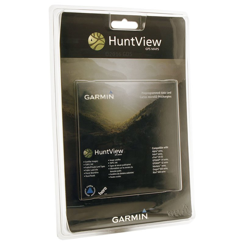 Garmin Hunt View Maps Packaging