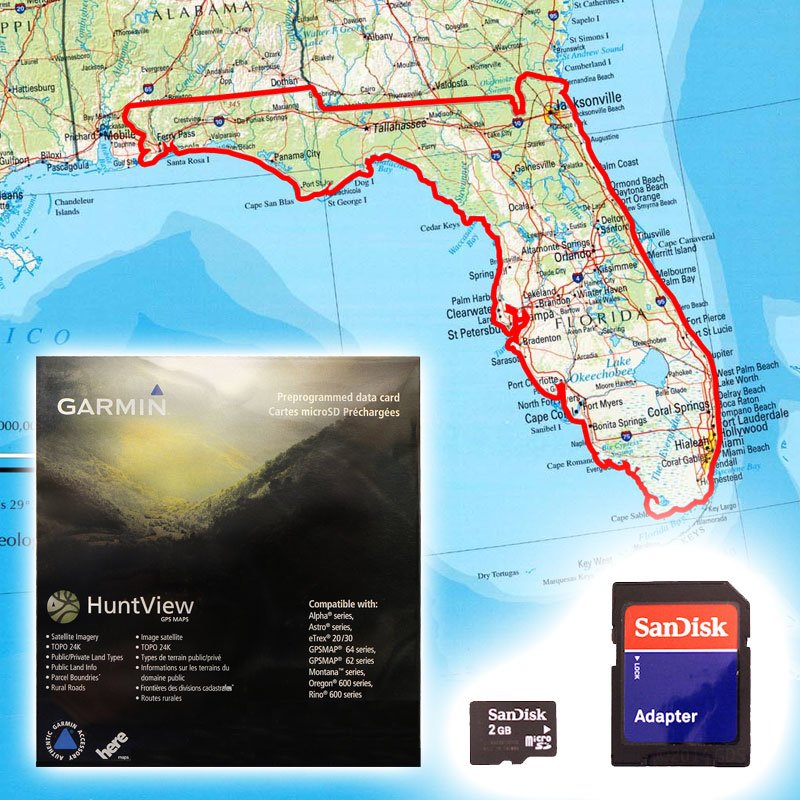 Garmin HuntView Map Card - Florida. $79.99.
