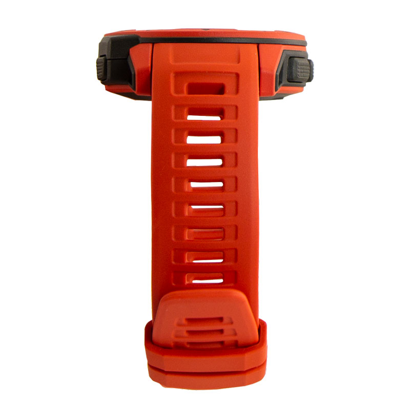 Garmin Instinct Flame Red Top Detail