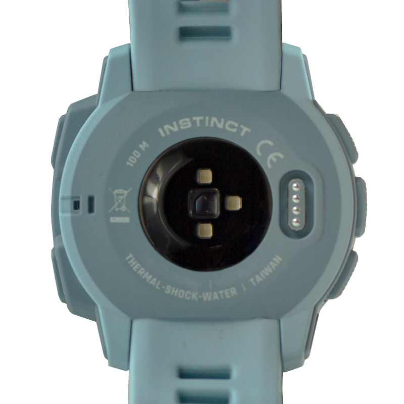 Garmin Instinct Sea Foam Back Detail