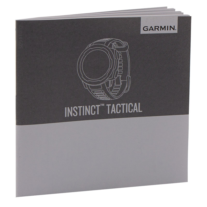 Garmin Instinct Tactical Manual