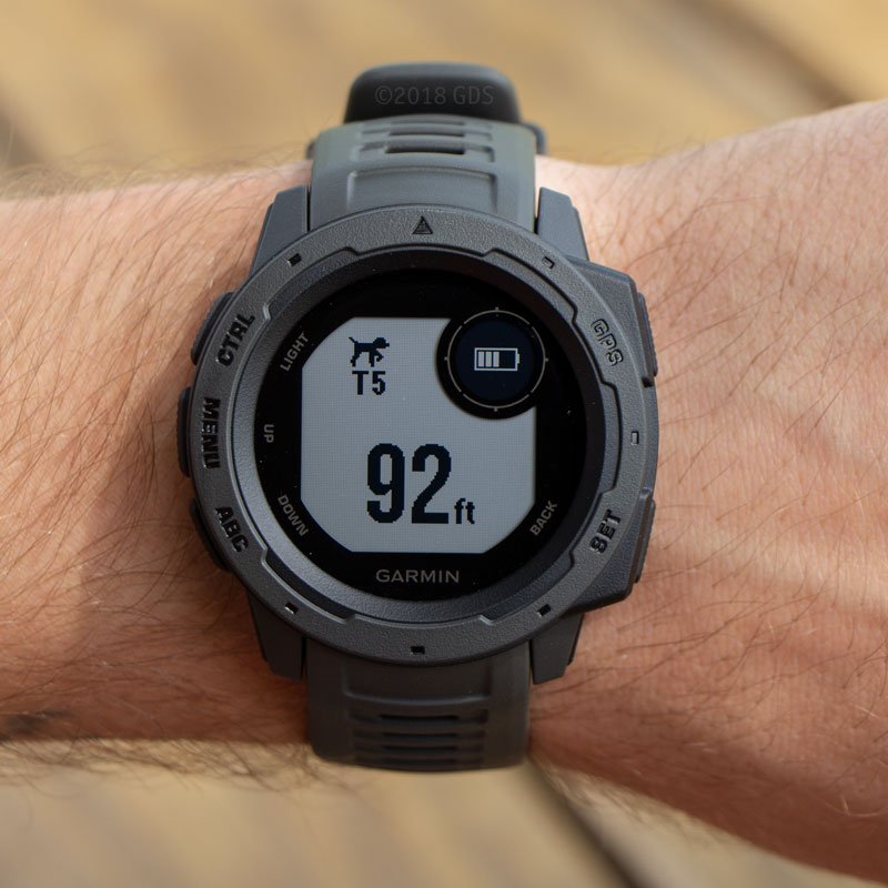 Garmin Instinct Watch Detail - T5