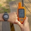 Garmin Instinct Watch Screen Detail w/Astro - Yellow