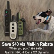 shop Garmin PRO and Delta XC Series Mail-In Rebate