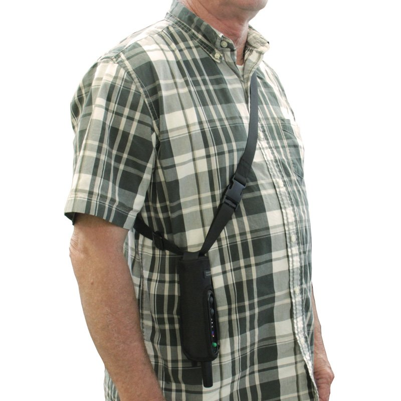 Garmin PRO Holster Worn Over Shoulder