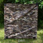shop GDS 2-Pole 4 ft. Camo Holding Blind