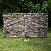 shop GDS 3-Pole 8 ft. Camo Holding Blind