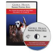 shop George Hickox Training Pointing Dogs: The DVD Collection, Vols. I-IV
