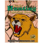 shop Girls Hunting Coloring Book
