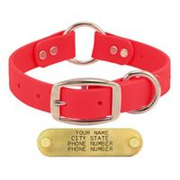 buy  Goose and Boone PINK 1 in. TufFlex Center Ring Dog Collar