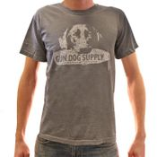 "shop GRAY ""Roxy"" + Gun Dog Supply Logo T-Shirt"