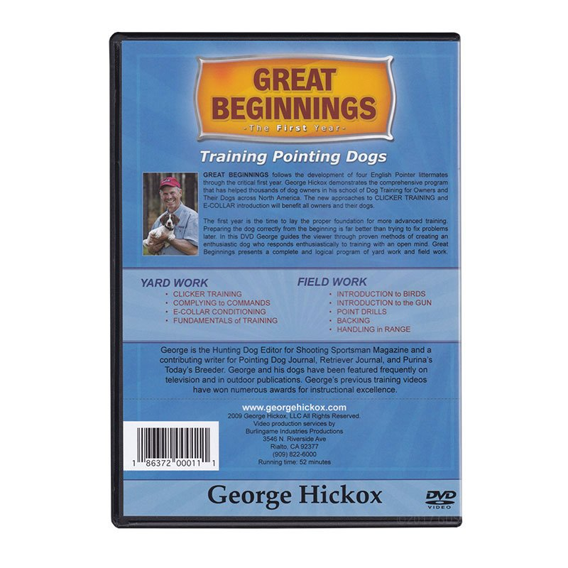 Great Beginnings: The First Year DVD back