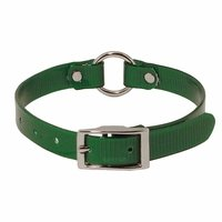 shop Green 3/4 in. Center Ring Day Glow Collar - 12 inch