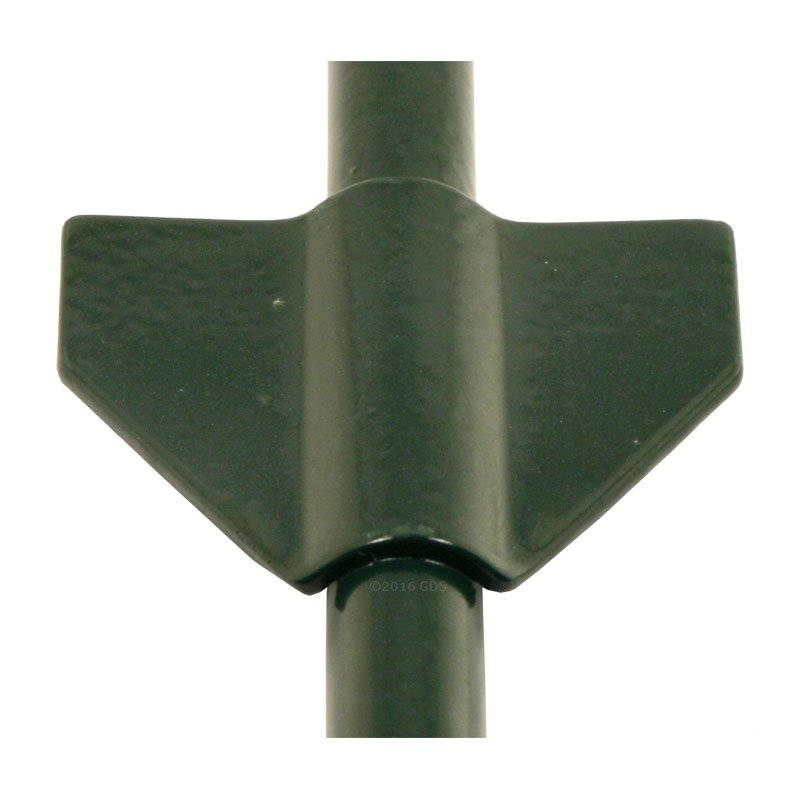 Green Tie Out Stake FIn