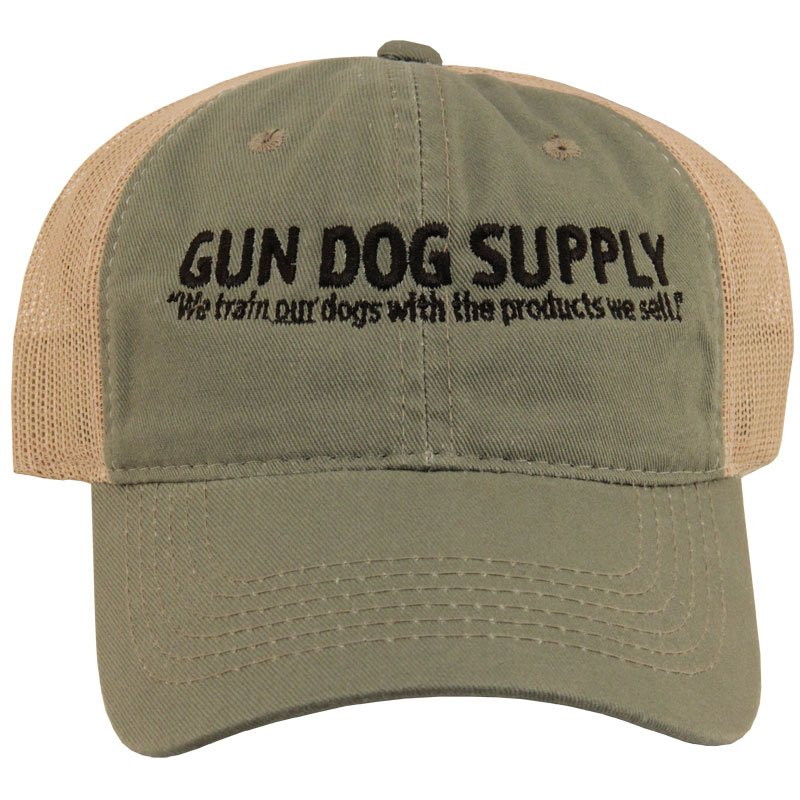 Gun Dog Olive/Tan Cap Front
