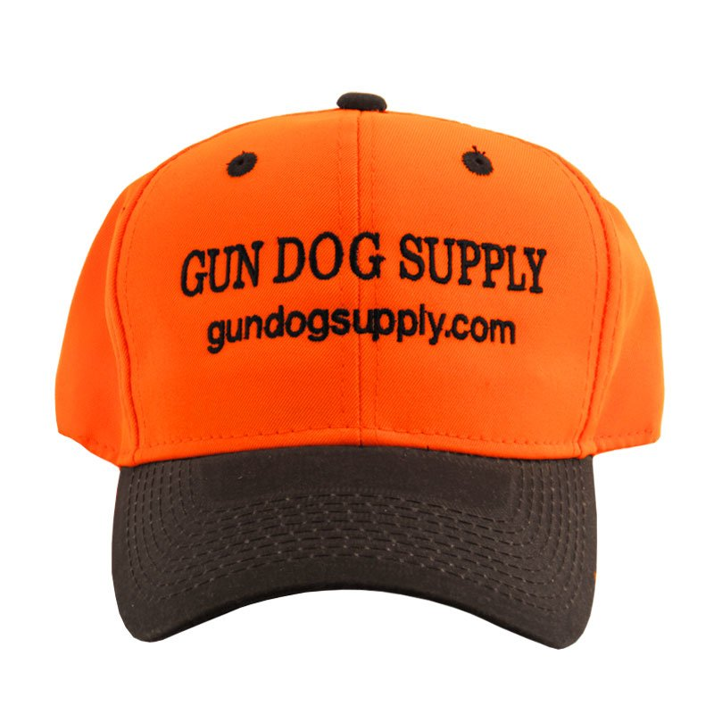 Gun Dog Orange Cap Front