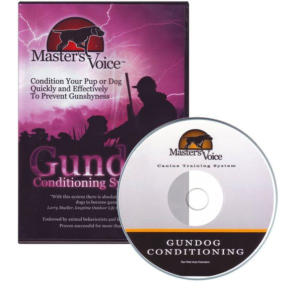 Gundog Conditioning Audio CD by Masters Voice