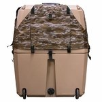 shop Gunner Kennels Camo Cold Weather Kit Back Flaps Down