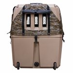 shop Gunner Kennels Camo Cold Weather Kit Back Flaps Open