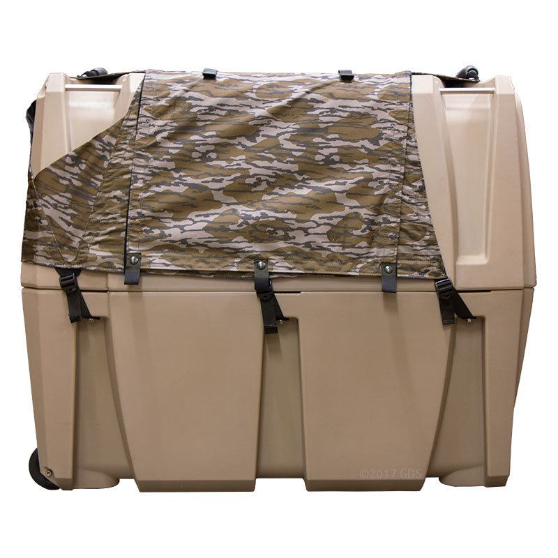 Gunner Kennels Camo Cold Weather Kit Left Side Flaps Down