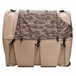 shop Gunner Kennels Camo Weather Kit Right Side Flaps Down