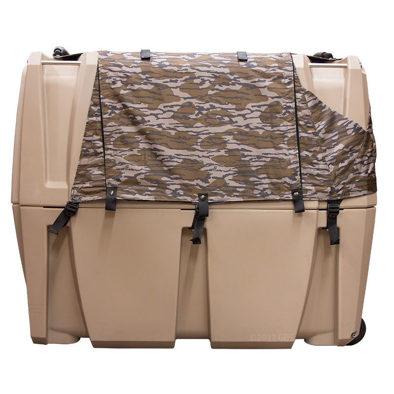 Gunner Kennels Camo Weather Kit Right Side Flaps Down