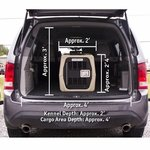 shop Gunner Kennels Small Dog Crate in Large SUV
