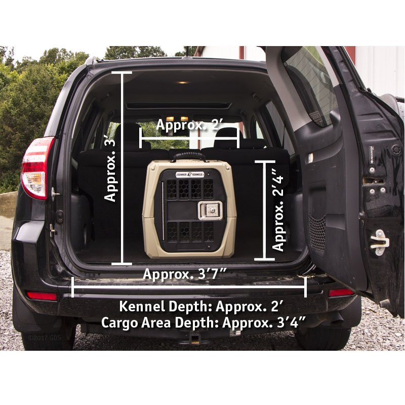 Gunner Kennels Small Dog Crate in Small SUV