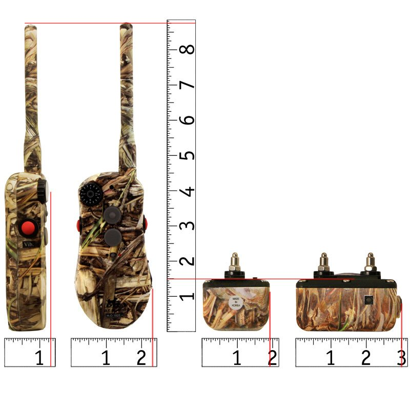 H2O 1820 PLUS Camo Collar and Transmitter Scaled