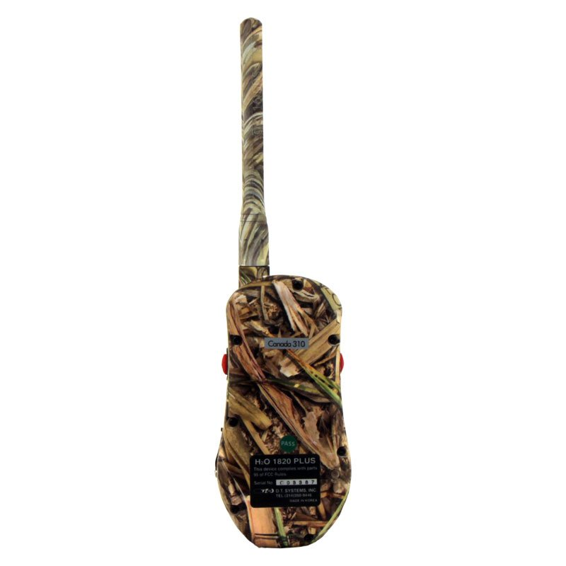 H2O 1820 PLUS Camo Transmitter Back