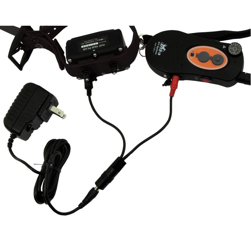 H2O-1820 Transmitter and Receiver on Charger