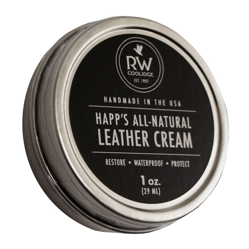 Happ's All-Natural Leather Cream