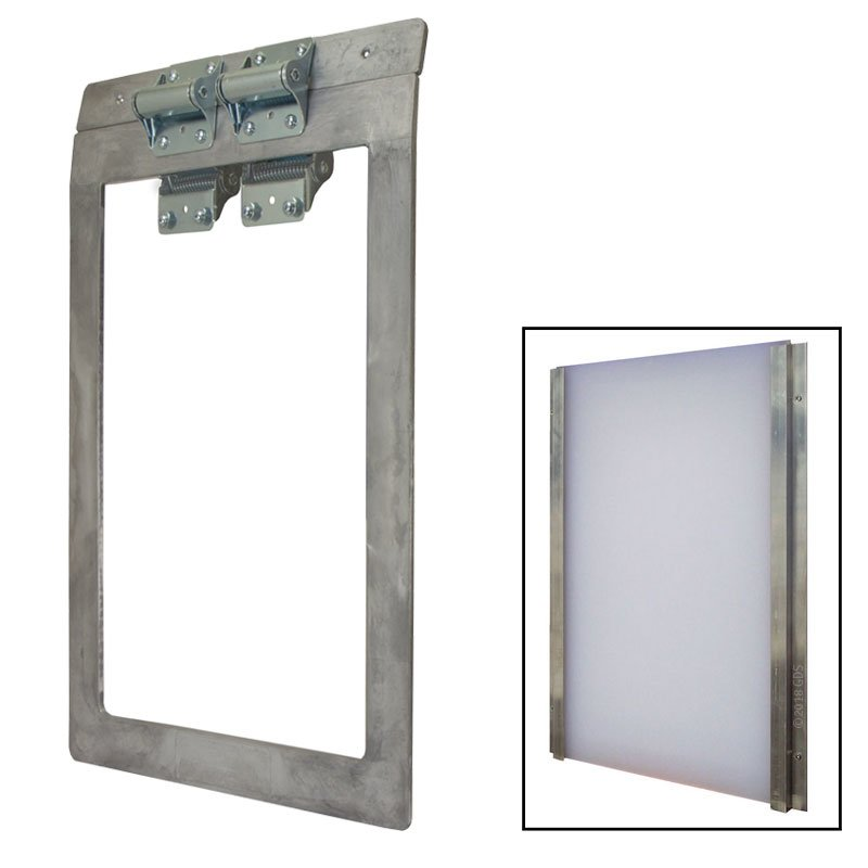Heavy Duty Dog Door With Closure Panel 12800 Free Shipping Us48