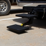 shop Hitch Step On A SUV