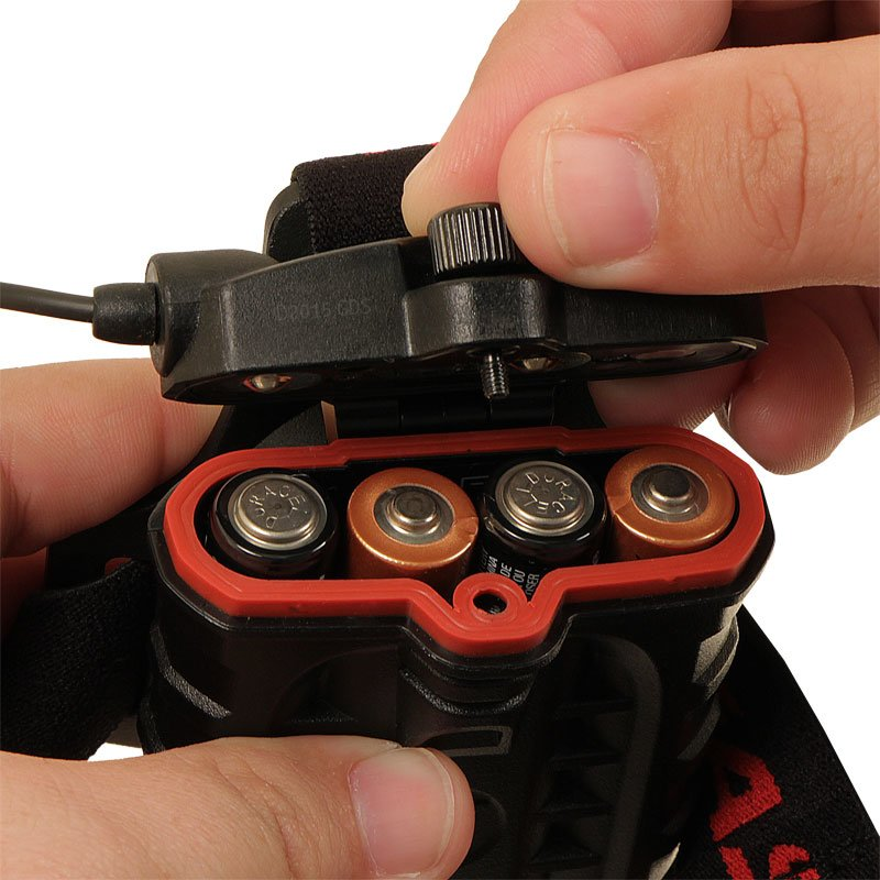 HL8 Battery Compartment Open