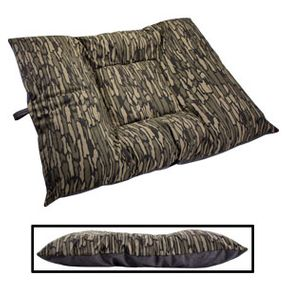 shop EXTRA LARGE Limited Edition Bizzy Beds® Dog Beds -- Thicket Trail Camo / Gray Two-Tone