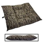 EXTRA LARGE Limited Edition Bizzy Beds® Dog Beds -- Thicket Trail Camo / Gray Two-Tone