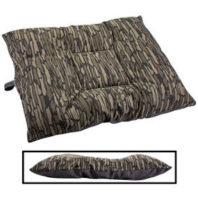 shop LARGE Limited Edition Bizzy Beds® Dog Beds -- Thicket Trail Camo / Gray Two-Tone