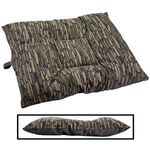 LARGE Limited Edition Bizzy Beds® Dog Beds -- Thicket Trail Camo / Gray Two-Tone