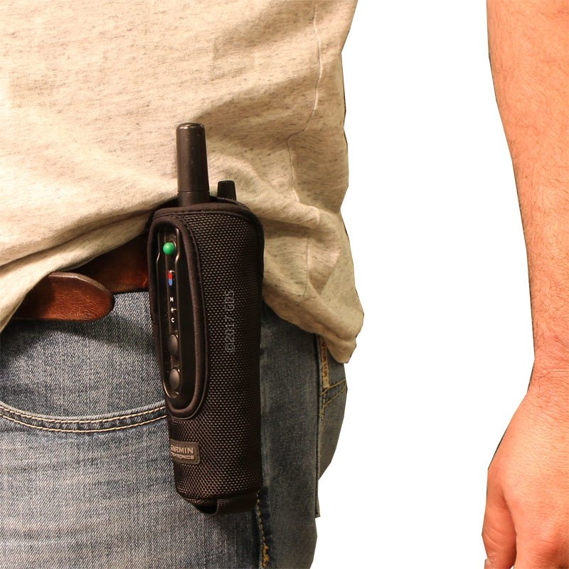 Holster with PRO 550 on belt